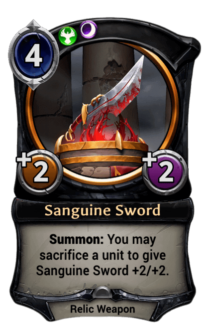 Card image for Sanguine Sword