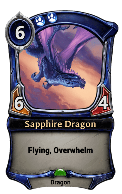 Card image for Sapphire Dragon