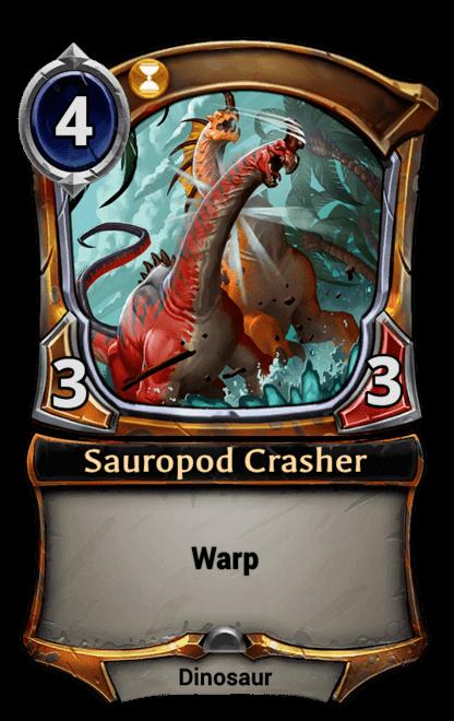Card image for Sauropod Crasher