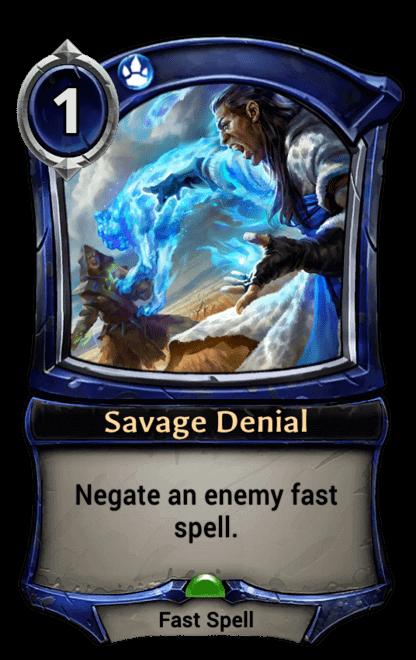 Card image for Savage Denial