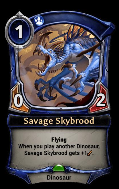Card image for Savage Skybrood