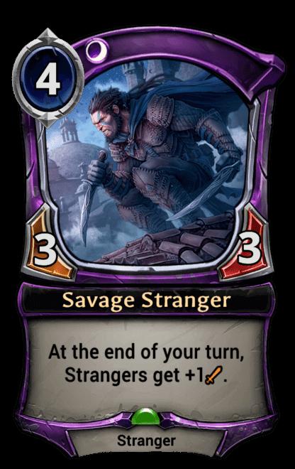 Card image for Savage Stranger