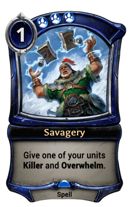 Card image for Savagery