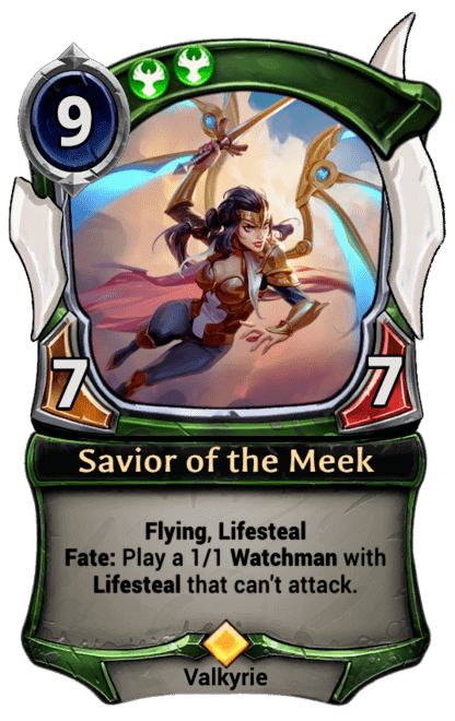 Card image for Savior of the Meek