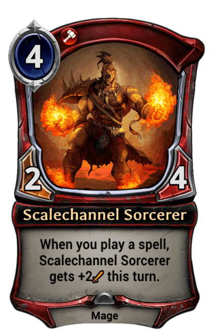 Card image for Scalechannel Sorcerer