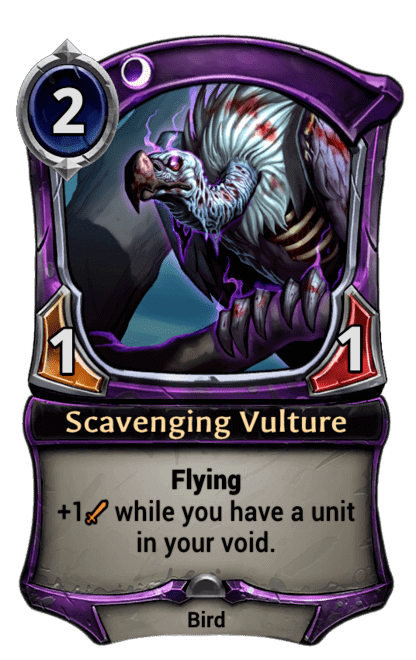 Card image for Scavenging Vulture