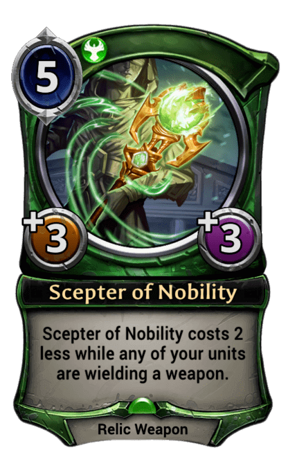 Card image for Scepter of Nobility