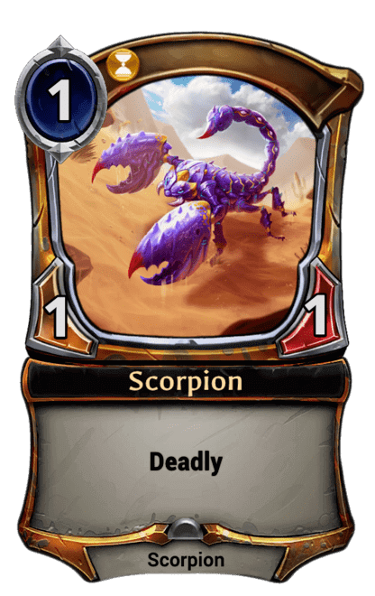 Card image for Scorpion
