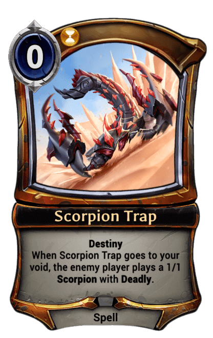 Card image for Scorpion Trap