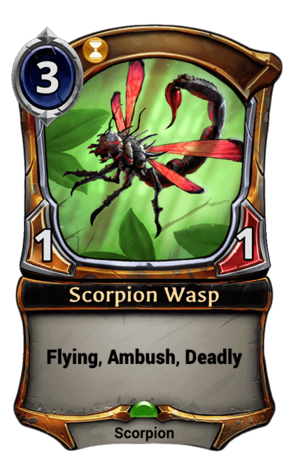 Card image for Scorpion Wasp