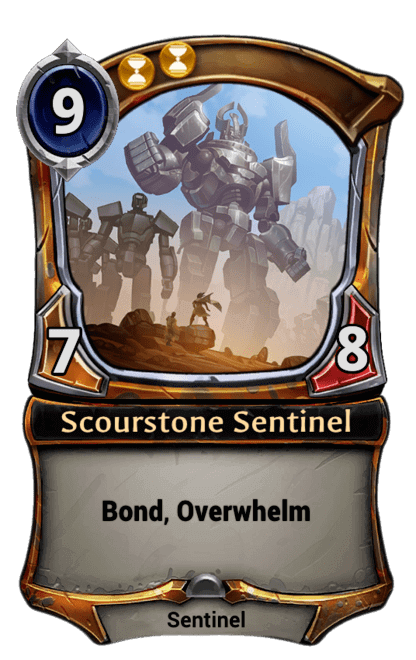 Card image for Scourstone Sentinel