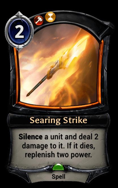 Card image for Searing Strike