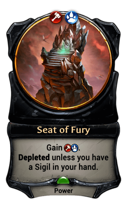 Card image for Seat of Fury