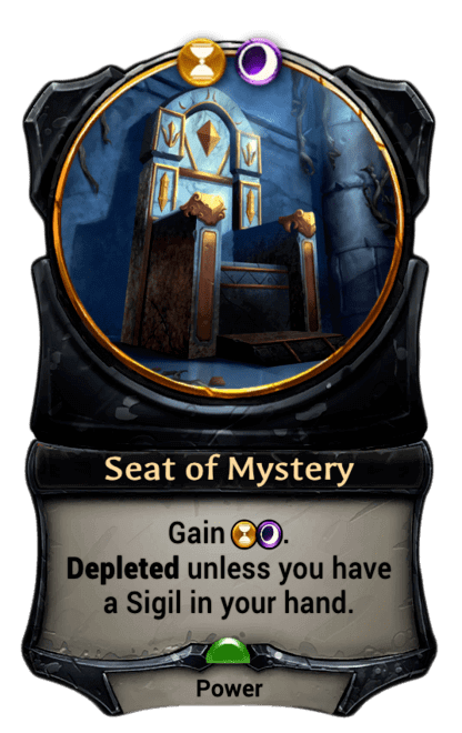 Card image for Seat of Mystery