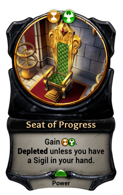 Card image for Seat of Progress