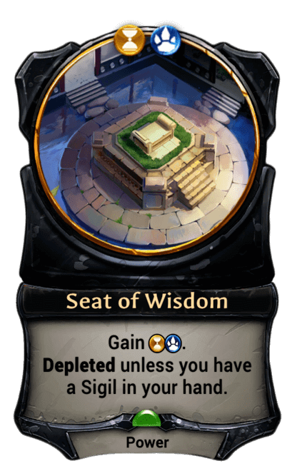 Card image for Seat of Wisdom