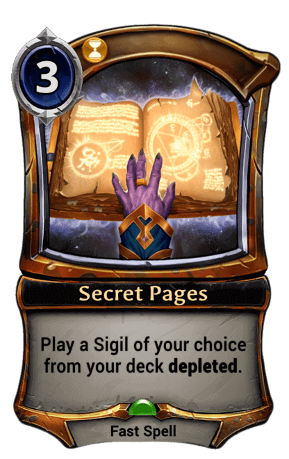 Card image for Secret Pages
