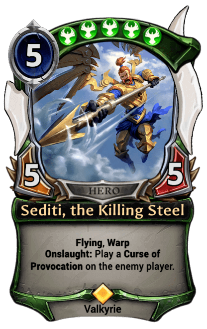 Card image for Sediti, the Killing Steel