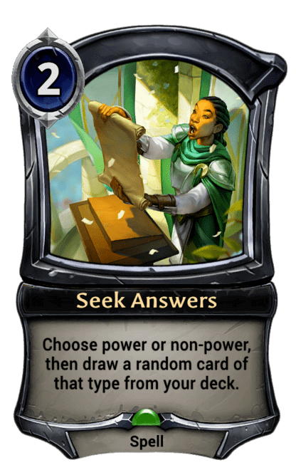 Card image for Seek Answers