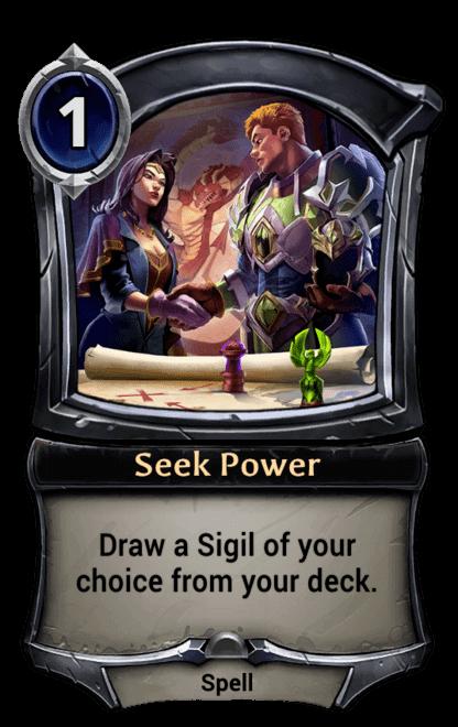 Card image for Seek Power