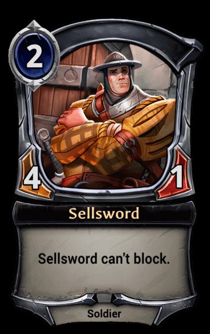 Card image for Sellsword