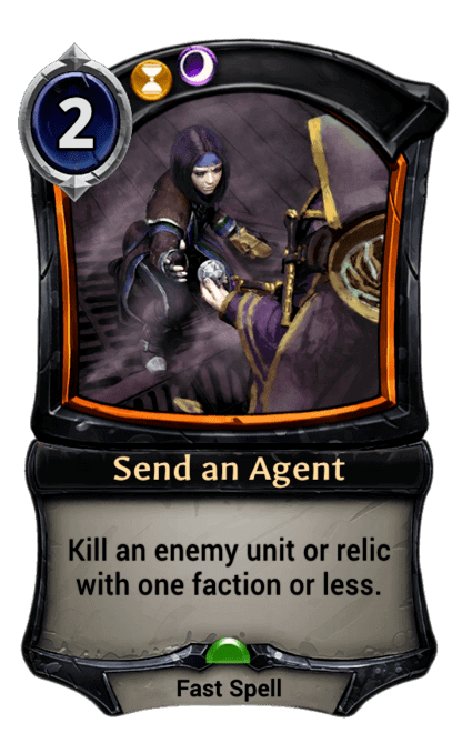 Card image for Send an Agent