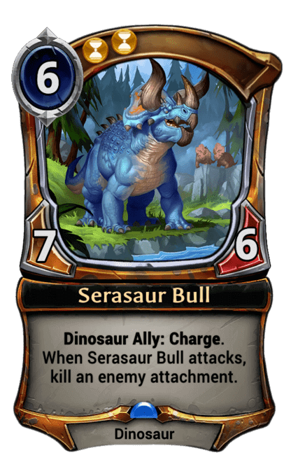 Card image for Serasaur Bull