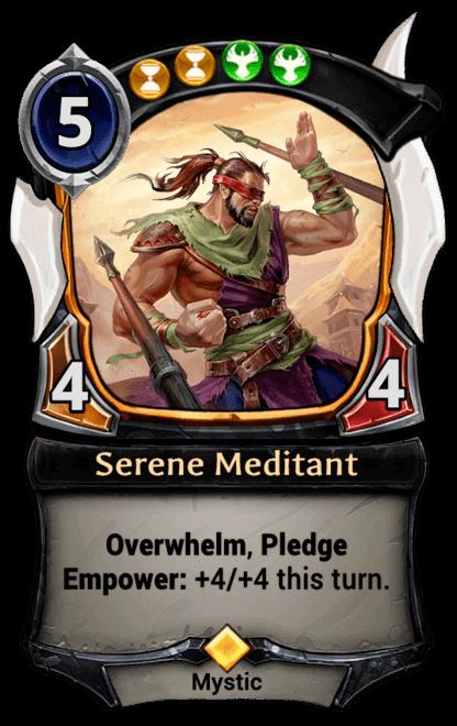 Card image for Serene Meditant