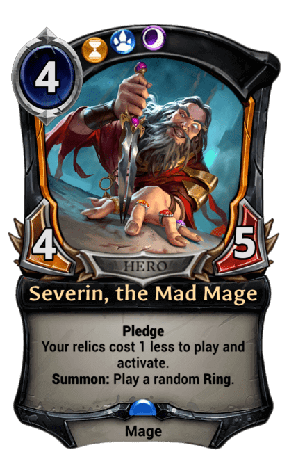 Card image for Severin, the Mad Mage