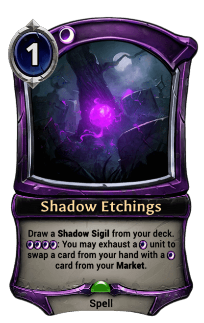 Card image for Shadow Etchings