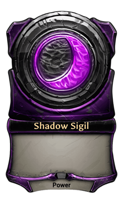 Card image for Shadow Sigil