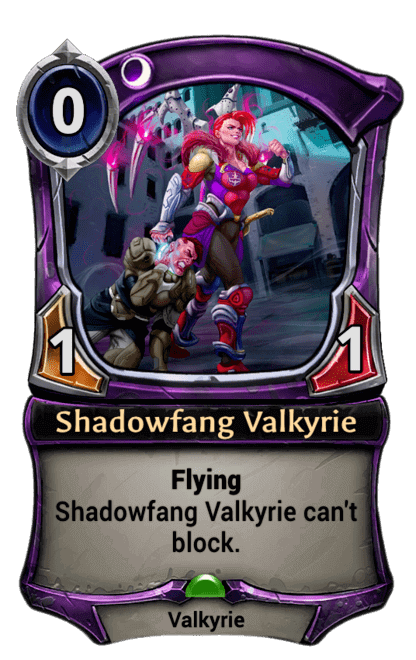 Card image for Shadowfang Valkyrie