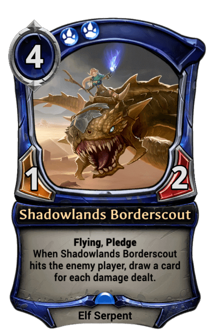 Card image for Shadowlands Borderscout
