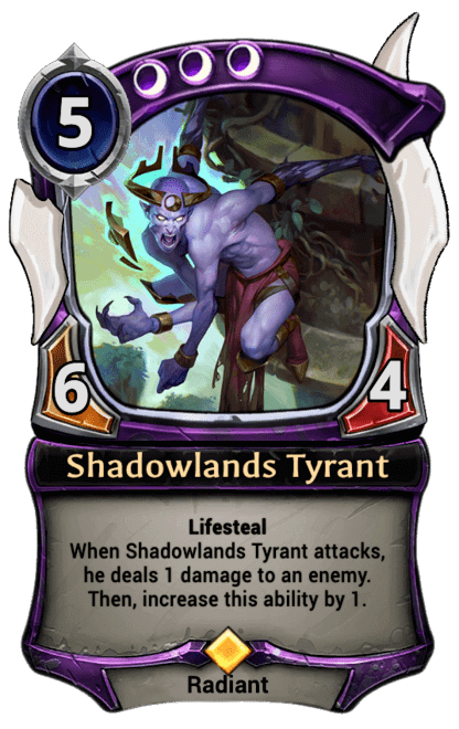 Card image for Shadowlands Tyrant