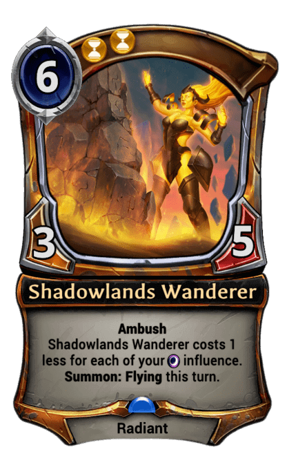 Card image for Shadowlands Wanderer