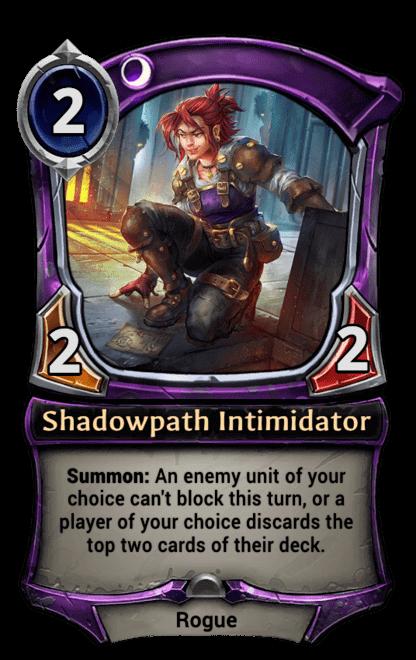 Card image for Shadowpath Intimidator