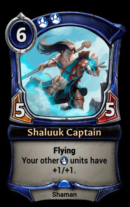 Card image for Shaluuk Captain
