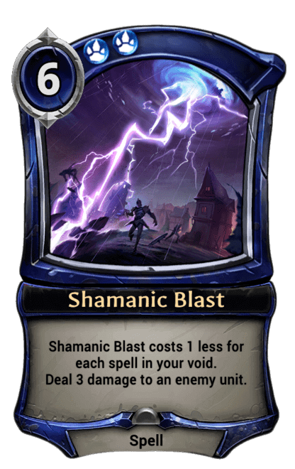Card image for Shamanic Blast