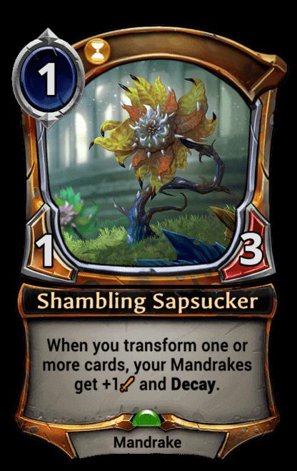 Card image for Shambling Sapsucker
