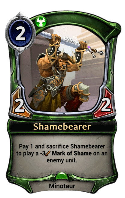 Card image for Shamebearer