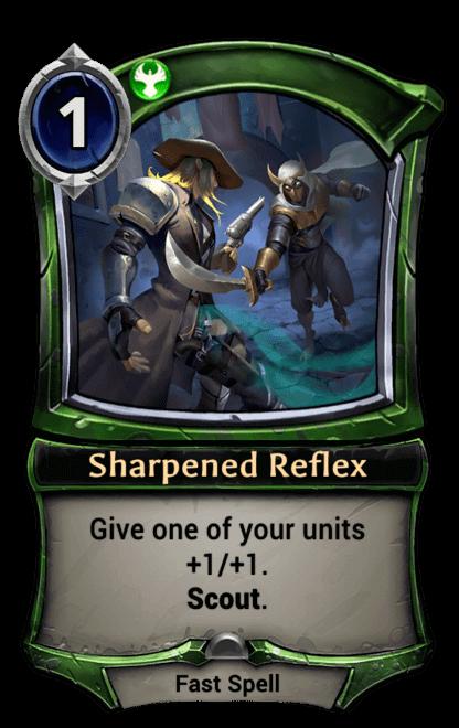 Card image for Sharpened Reflex