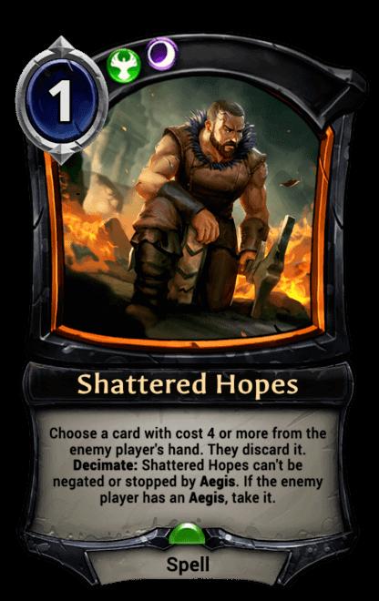 Card image for Shattered Hopes