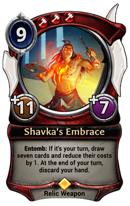Card image for Shavka's Embrace