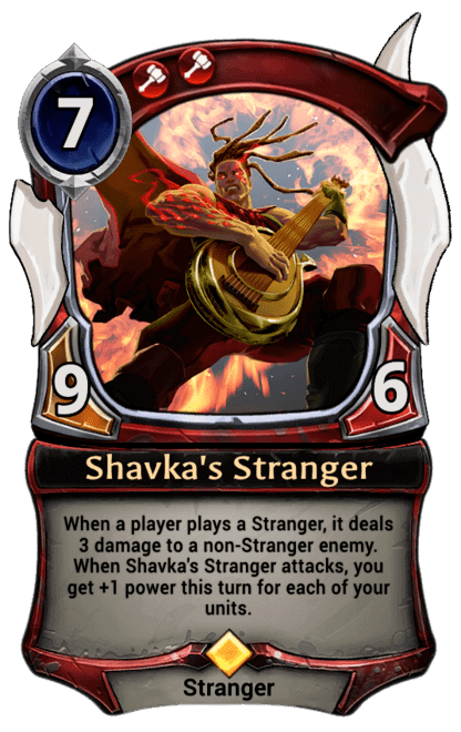 Card image for Shavka's Stranger