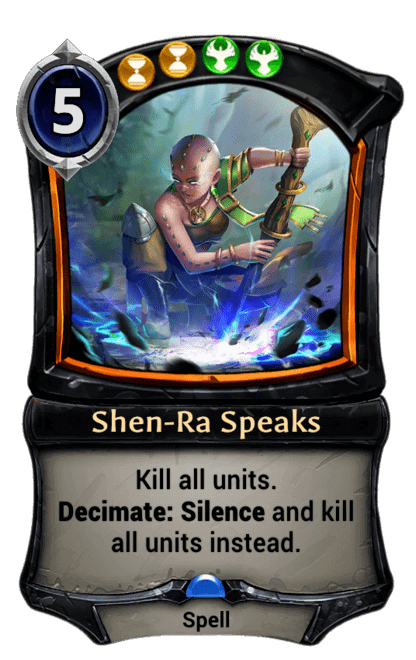 Card image for Shen-Ra Speaks