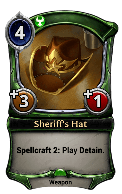 Card image for Sheriff's Hat