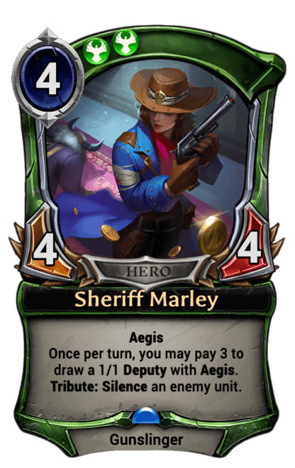 Card image for Sheriff Marley