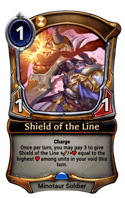 Card image for Shield of the Line