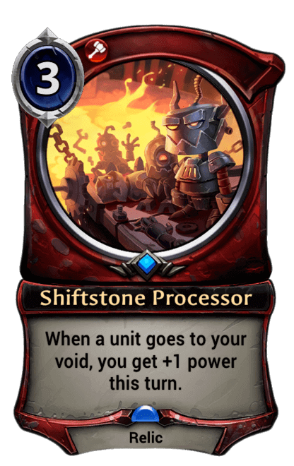 Card image for Shiftstone Processor