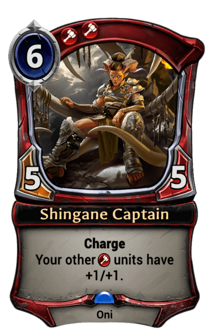 Card image for Shingane Captain